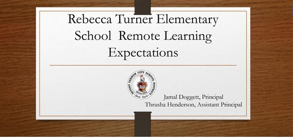 RTES Remote Learning Expectations